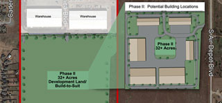 Mid America Business Park Development Land